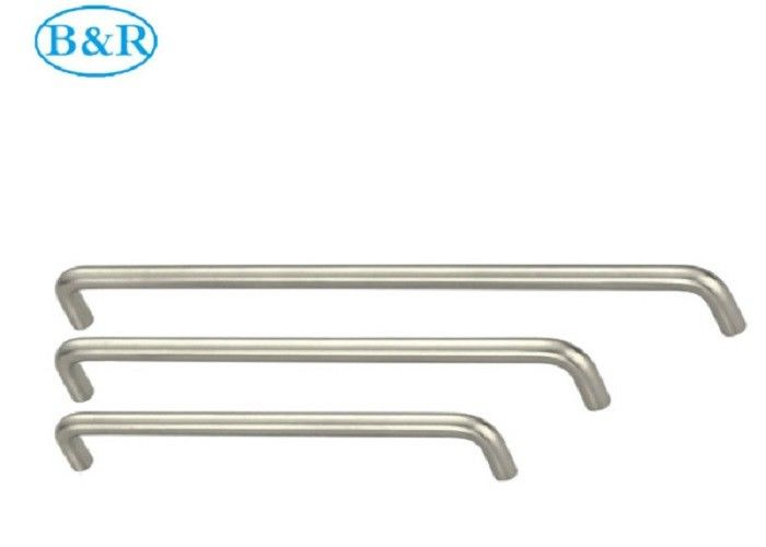 HZ2002 T - Bar Solid Aluminum Alloy Handles Durable Nickel Color